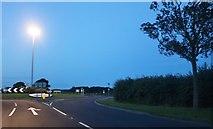 TA1564 : Roundabout at Carnaby Moor by David Howard