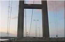 TA0223 : Crossing the Humber Bridge by David Howard