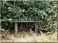 TG1617 : Bilney Lane sign by Adrian Cable