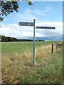 TG1616 : Signpost on Reepham Road by Adrian Cable