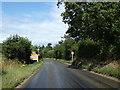 TG1617 : Entering Felthorpe on Taversham Road by Adrian Cable