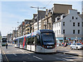 NT2573 : Edinburgh : Tram on Princes Street by David Dixon