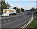 ST3090 : Visbeen articulated lorry, Malpas Road, Newport by Jaggery