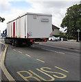 ST3090 : Wide load in transit, Malpas Road, Newport by Jaggery