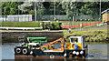 "J3471 : The ""Cuan Spirit"", River Lagan, Belfast (August 2019) by Albert Bridge"