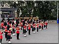 NT2573 : Royal Edinburgh Military Tattoo: Military Band on the Castle Esplanade by David Dixon