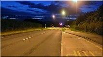 TA1177 : Bus stop on Moor Road, Hunmanby by David Howard
