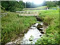 NY6712 : Footbridge over Asby Gill by Oliver Dixon