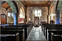 NY2039 : Torpenhow, St. Michael's Church: The nave from the chancel by Michael Garlick