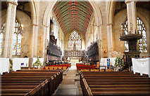 TF3244 : Inside St. Botolph's church by Malcolm Neal