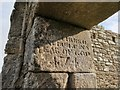 C6706 : Inscribed stone at the west doorway, Banagher Old Church by Phil Champion