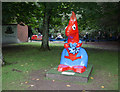 NH6543 : Go Nuts Squirrel, Whin Park by Craig Wallace