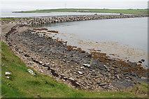 ND4798 : Rocky shore by Churchill Barrier 3 by Bill Boaden