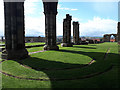 NZ9011 : Whitby Abbey: arcade shadows by Stephen Craven