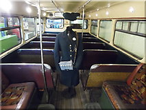 NS5565 : Inside a Glasgow motorbus in the Riverside Museum by David Hillas