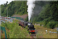 NT4936 : A steam special on the Borders Railway by Walter Baxter