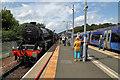 NT5234 : Tweedbank Station by Walter Baxter