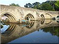 TQ7353 : The bridge over the River Medway at East Farleigh by Marathon
