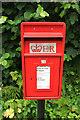 SX7772 : Postbox, Stormsdown by Derek Harper