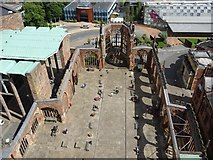 SP3378 : The shell of Coventry Cathedral by Philip Halling