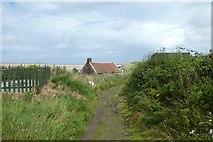 NU1535 : Cottage on the sands by DS Pugh