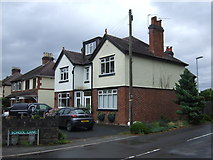 SJ9220 : Houses on Mosspit (A449), Stafford by JThomas