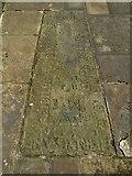 NS4863 : Gravestone of William Algeo by Lairich Rig