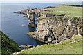 HY2215 : Clifftop above Garthna Geo by Bill Boaden