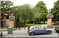 SK5640 : Entrance to Waterloo Promenade, Forest Road West, Nottingham by Alan Murray-Rust