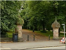 SK5640 : Entrance to Waterloo Promenade, Mount Hooton Road, Nottingham by Alan Murray-Rust