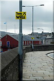 HU4741 : Electioneering, Commercial Street Lerwick by Mike Pennington