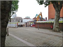 SO9198 : Old Hall Street Demolition by Gordon Griffiths