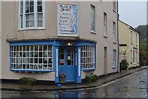 ST6601 : Corner shop, Cerne Abbas by David Martin
