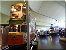 NS5565 : Glasgow tramcar 1392 in the Riverside Museum by David Hillas
