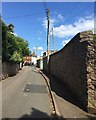 SX9073 : Approaching Fore Street from Forder Lane, Bishopsteignton by Robin Stott