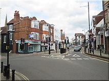 TQ1649 : Dorking High Street by Malc McDonald