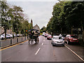 V9690 : Jaunting Car on East Avenue by David Dixon