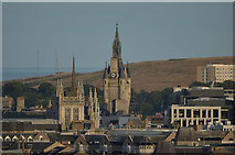 NJ9406 : The Spires of Aberdeen, Scotland by Andrew Tryon