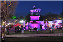 NT2473 : Edinburgh International Book Festival, Charlotte Square by Jim Barton