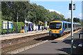 SK2082 : TransPennine Express at Bamford railway station by Andrew Abbott