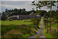 NJ8619 : Track to Cairnton Farm, near Newmachar, Aberdeenshire by Andrew Tryon