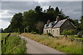 NJ8521 : Cottage near Clyne, Aberdeenshire by Andrew Tryon