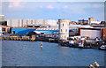 SU6301 : Round Tower in the Dockyard by Des Blenkinsopp