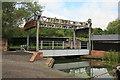 SO9491 : Black Country Living Museum - lift bridge by Chris Allen