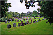 NH5757 : Urquhart New Burial Ground by Richard Dorrell