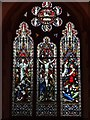 SO7939 : Stained glass window, Welland church by Philip Halling