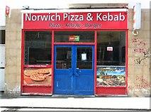 TG2309 : 6 Magdalen Street - Norwich Pizza & Kebab by Evelyn Simak