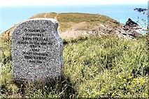 SW8576 : Memorial Stone by Peter Jeffery