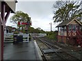 TQ8833 : Level crossing at Tenterden Town by Gerald England