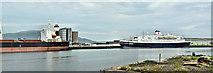 """J3576 : The """"Astoria"""", Belfast harbour (August 2019) by Albert Bridge"""